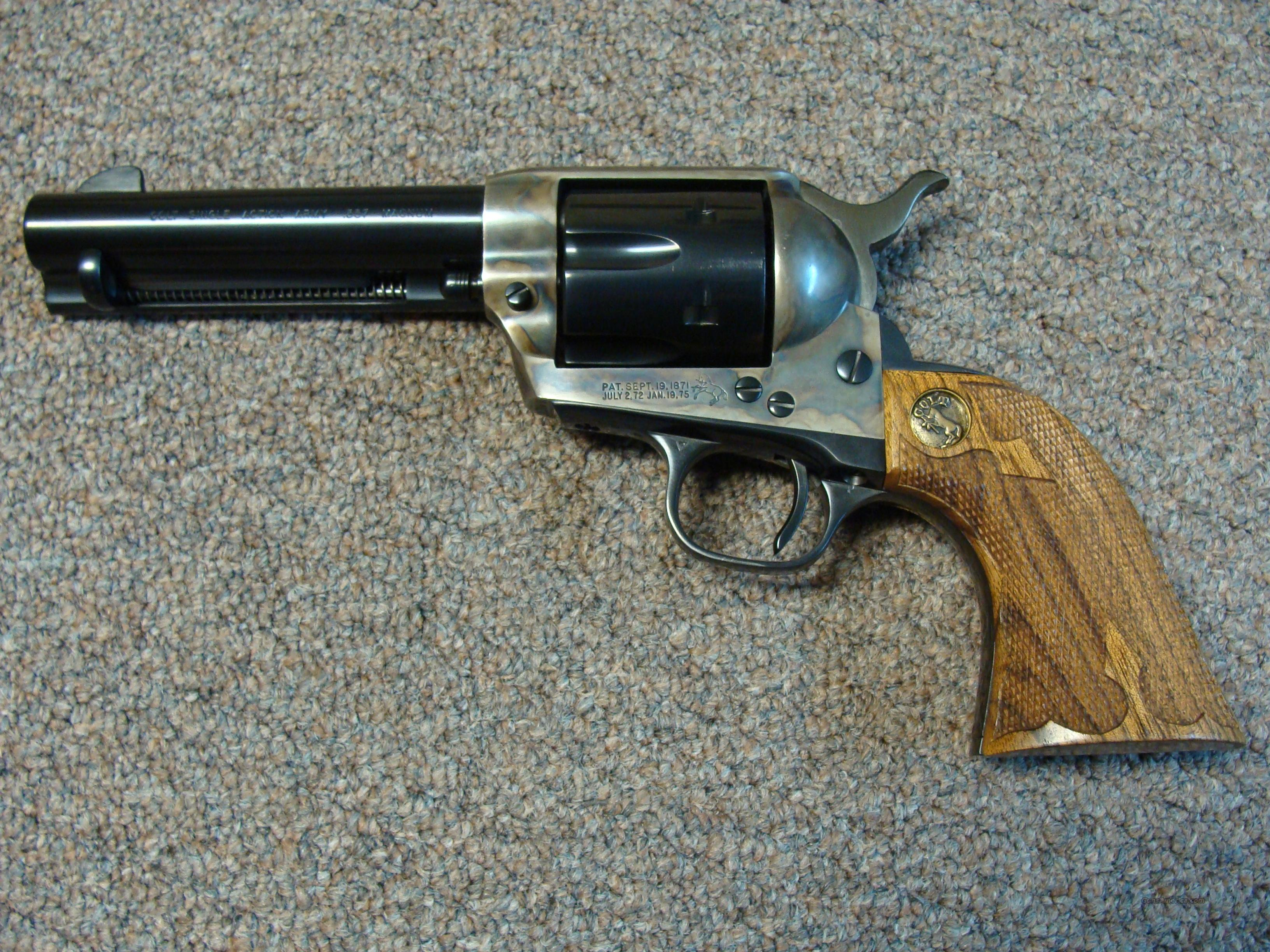 COLT SAA early 2nd generation 43/4 357  Guns > Pistols > Colt Single Action Revolvers - 2nd Gen.