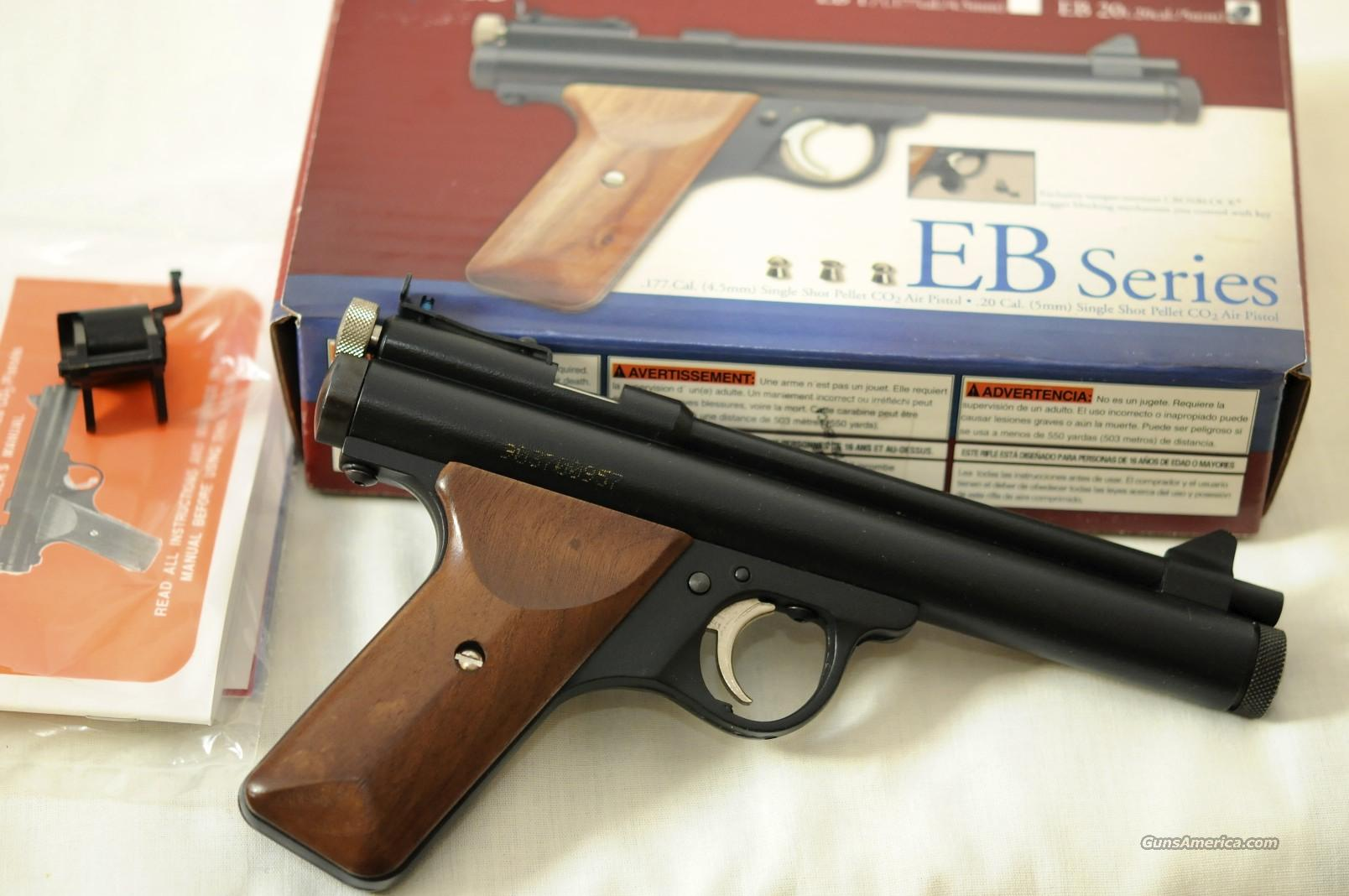 Benjamin Sheridan EB-20 CO2  Non-Guns > Air Rifles - Pistols > CO2 Pistol