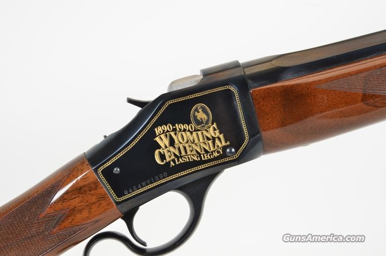 BROWNING 1885 WYOMING CENTENNIAL 25-06 NIB  Guns > Rifles > Browning Rifles > Lever Action
