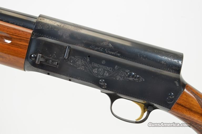 BROWNING LIGHT 12 BELGIUM 12 GAUGE  Guns > Shotguns > Browning Shotguns > Autoloaders > Hunting