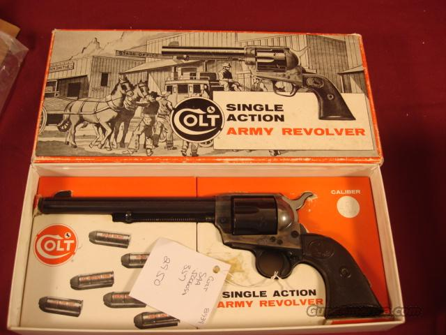 COLT SAA 2ND GENERATION STAGECOACH BOX 357  Guns > Pistols > Colt Single Action Revolvers - 2nd Gen.