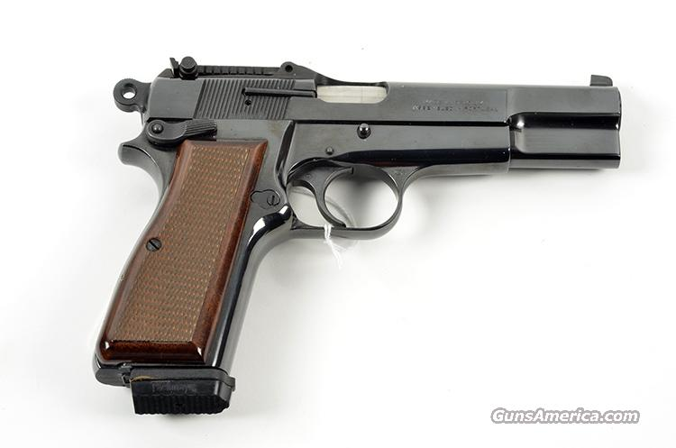 BROWNING HI POWER CAPITAN 9MM  Guns > Pistols > Browning Pistols > Hi Power