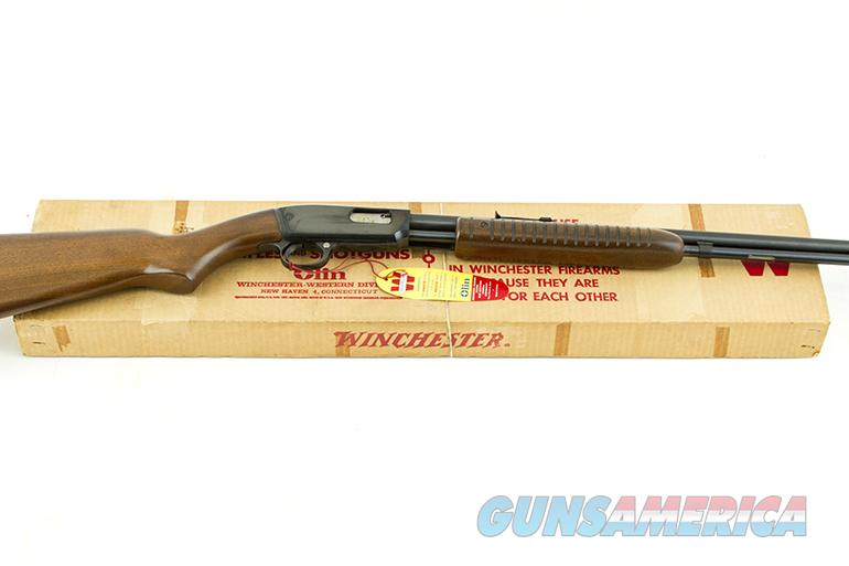 WINCHESTER 61 NEW IN BOX 22,L,LR  Guns > Rifles > Winchester Rifles - Modern Pump