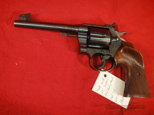 COLT SHOOTING MASTER 38  Guns > Pistols > Colt Double Action Revolvers- Pre-1945