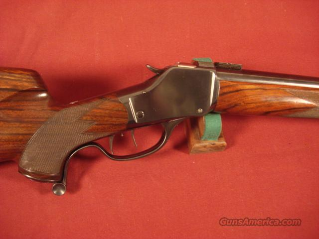 GRIFFIN&HOWE CUSTOM 1885 HI WALL 219 WASP  Guns > Rifles > Griffin and Howe Rifles