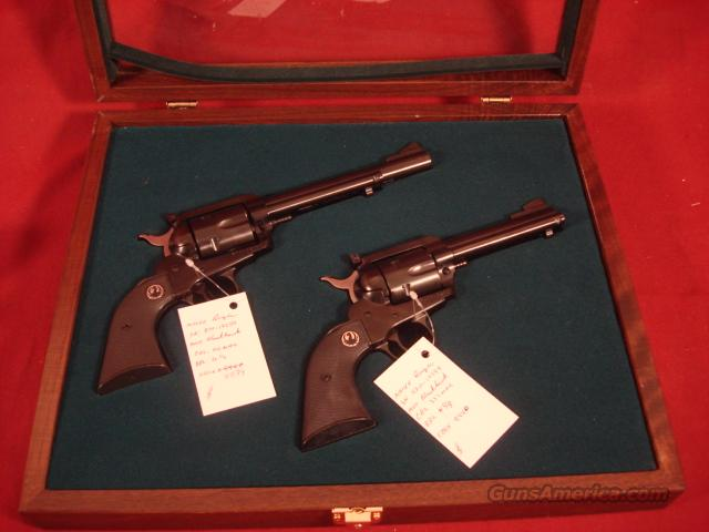 RUGER BLACKHAWK PAIR 50TH ANNIVERSARY 357&44  Guns > Pistols > Ruger Single Action Revolvers > Blackhawk Type