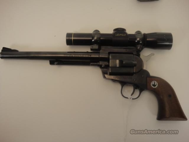 RUGER HAWKEYE 256 WIN MAG  Guns > Pistols > Ruger Single Action Revolvers > Blackhawk Type