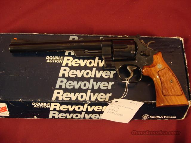 SMITH&WESSON M-25-9 45 COLT  Guns > Pistols > Smith & Wesson Revolvers > Full Frame Revolver