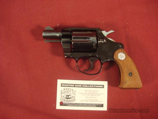 COLT COBRA 1ST ISSUE 38 SPECIAL  Guns > Pistols > Colt Double Action Revolvers- Modern