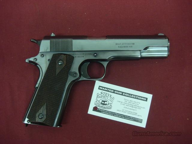 COLT 1911 COMMERCIAL 45 ACP MADE 1918  Guns > Pistols > Colt Automatic Pistols (1911 & Var)