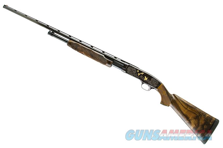 WINCHESTER MODEL 42 410 FRANK HENDRICKS ENGRAVED  Guns > Shotguns > Winchester Shotguns - Modern > Pump Action > Hunting