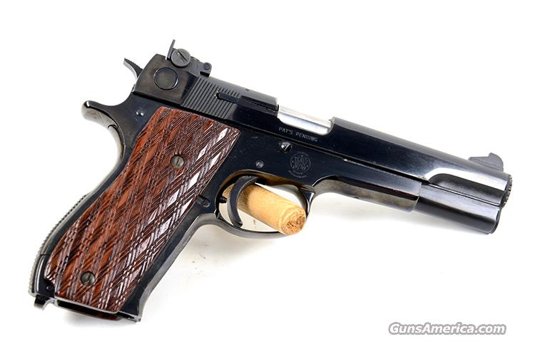 SMITH&WESSON M52-2 38 WADCUTTER  Guns > Pistols > Smith & Wesson Pistols - Autos > Steel Frame