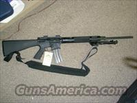 Bushmaster Varminter .223 flat top with mounts/bipod.  Guns > Rifles > Bushmaster Rifles > Complete Rifles