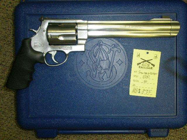 Smith Wesson 500 with 10 inch barrel, box,papers.  Guns > Pistols > Smith & Wesson Revolvers > Full Frame Revolver