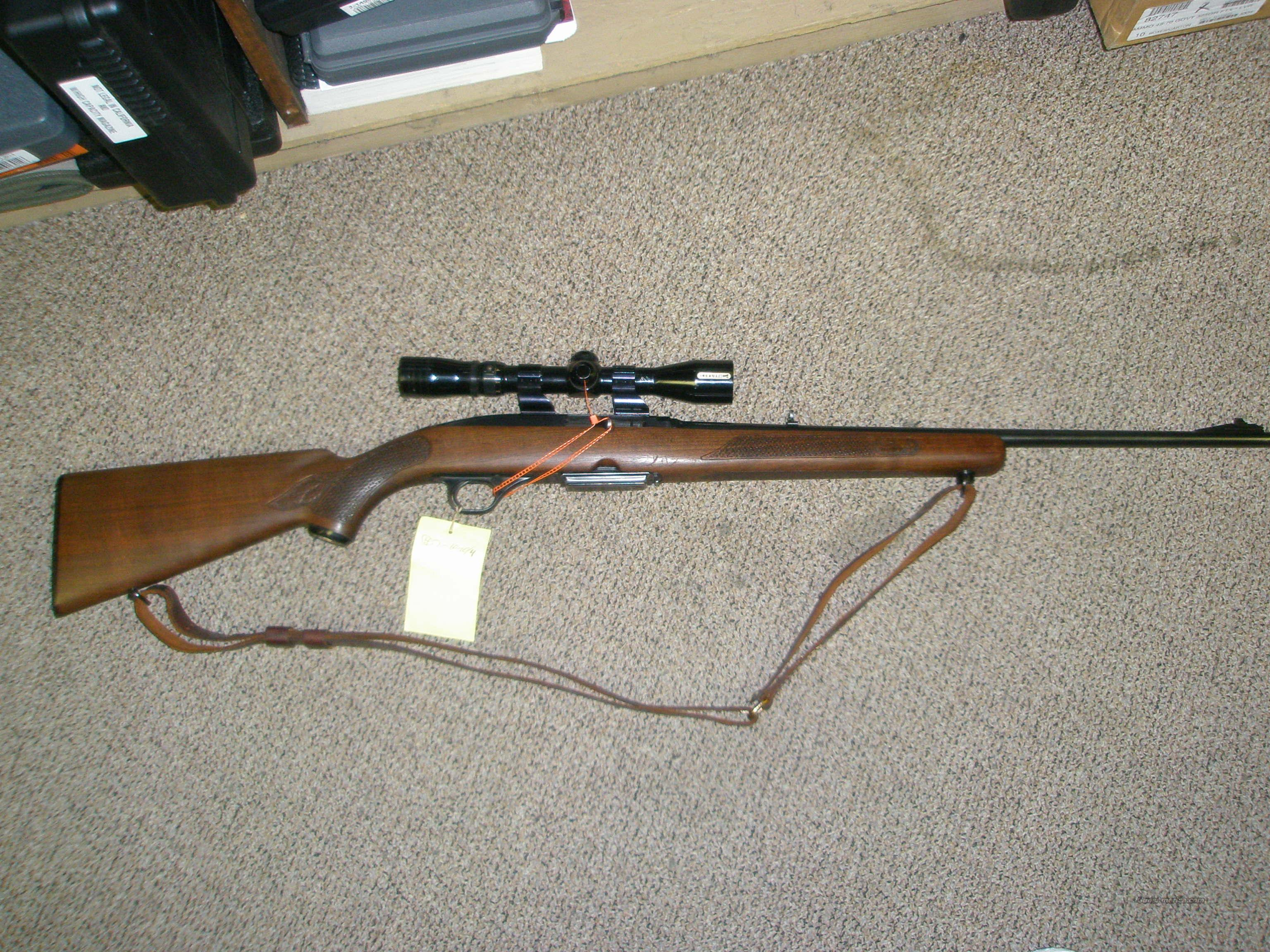 Winchester 100 .308 with wide angle Redfield Illuminator  Guns > Rifles > Winchester Rifles - Modern Bolt/Auto/Single > Autoloaders