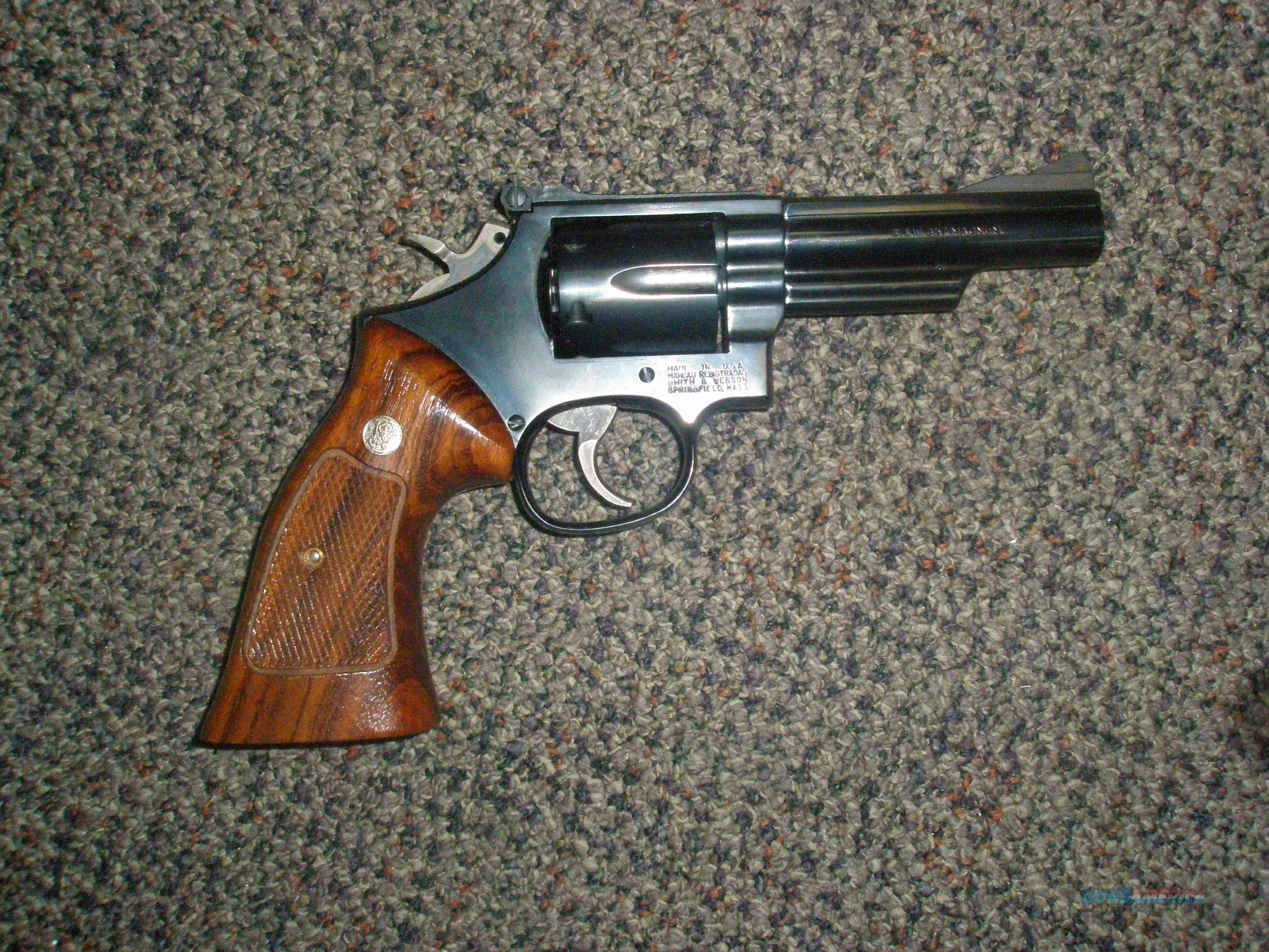 Smith Wesson 19-5 .357  Guns > Pistols > Smith & Wesson Revolvers > Full Frame Revolver
