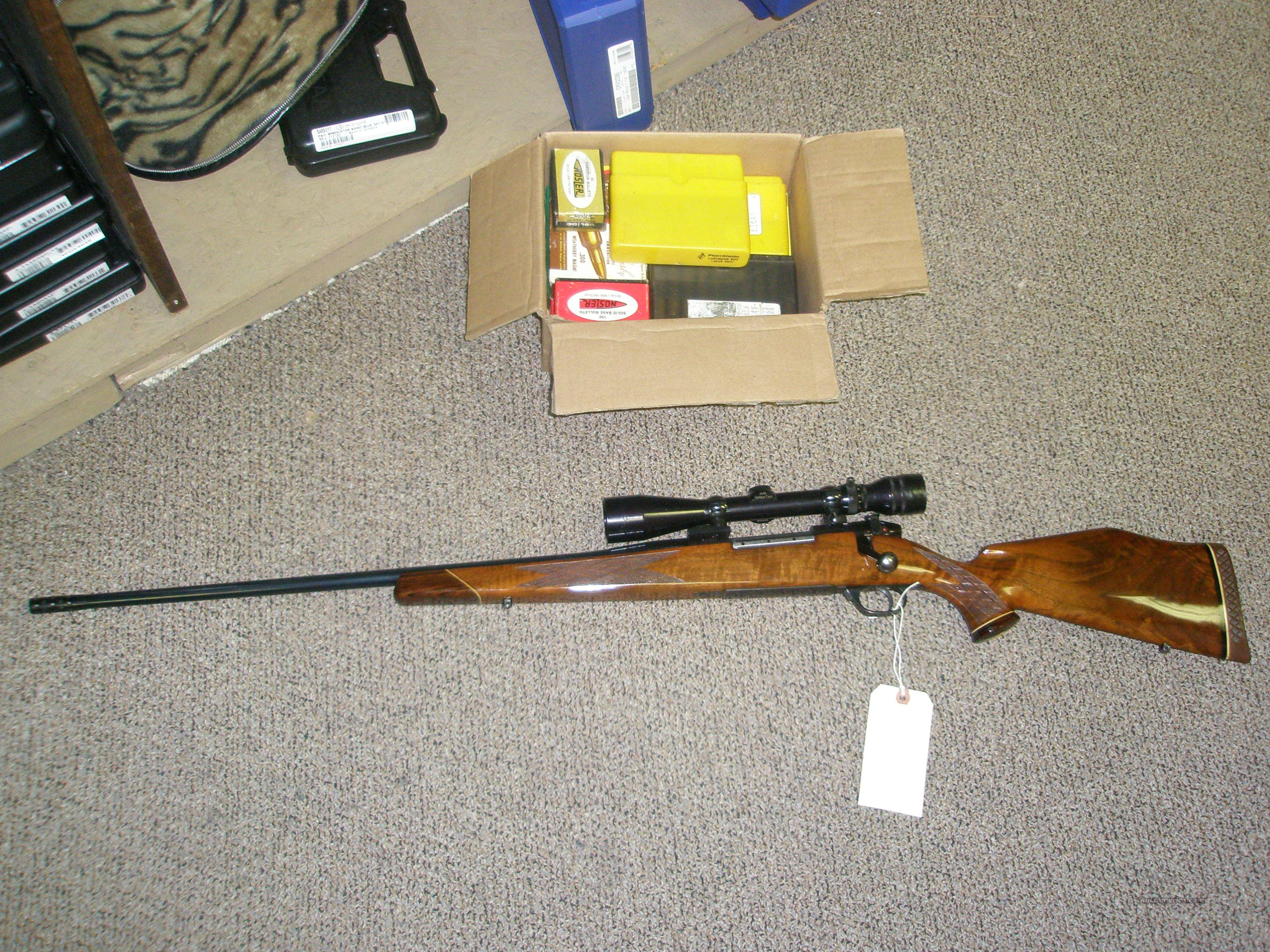 Weatherby German Mark 5 LH Deluxe in .300 Weatherby Mag with brake/Redfield 3/9/40  Guns > Rifles > Weatherby Rifles > Sporting