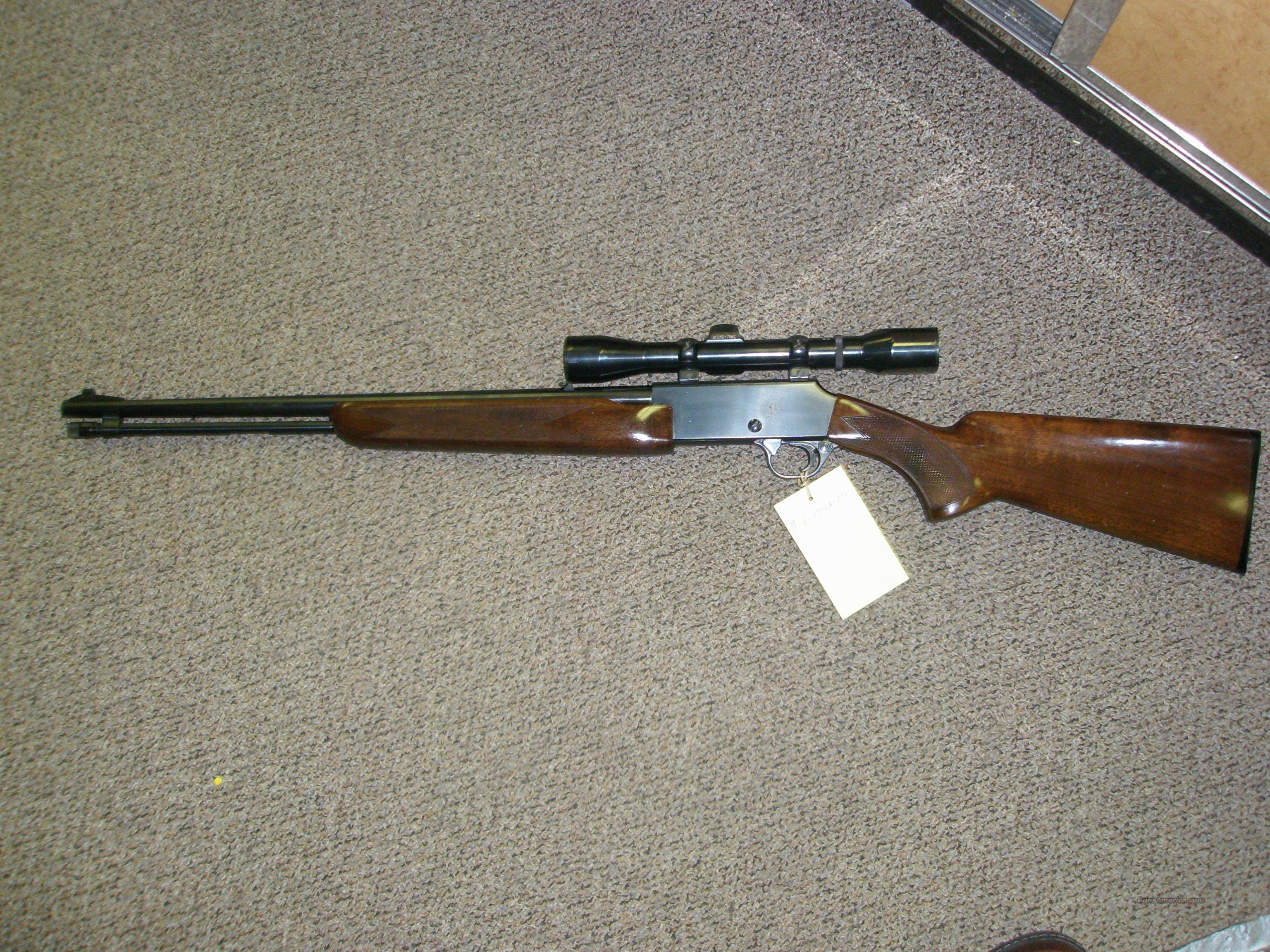 Browning BPR .22 mag pump with Weaver wide angle 3/9/40  Guns > Rifles > Browning Rifles > Pump Action