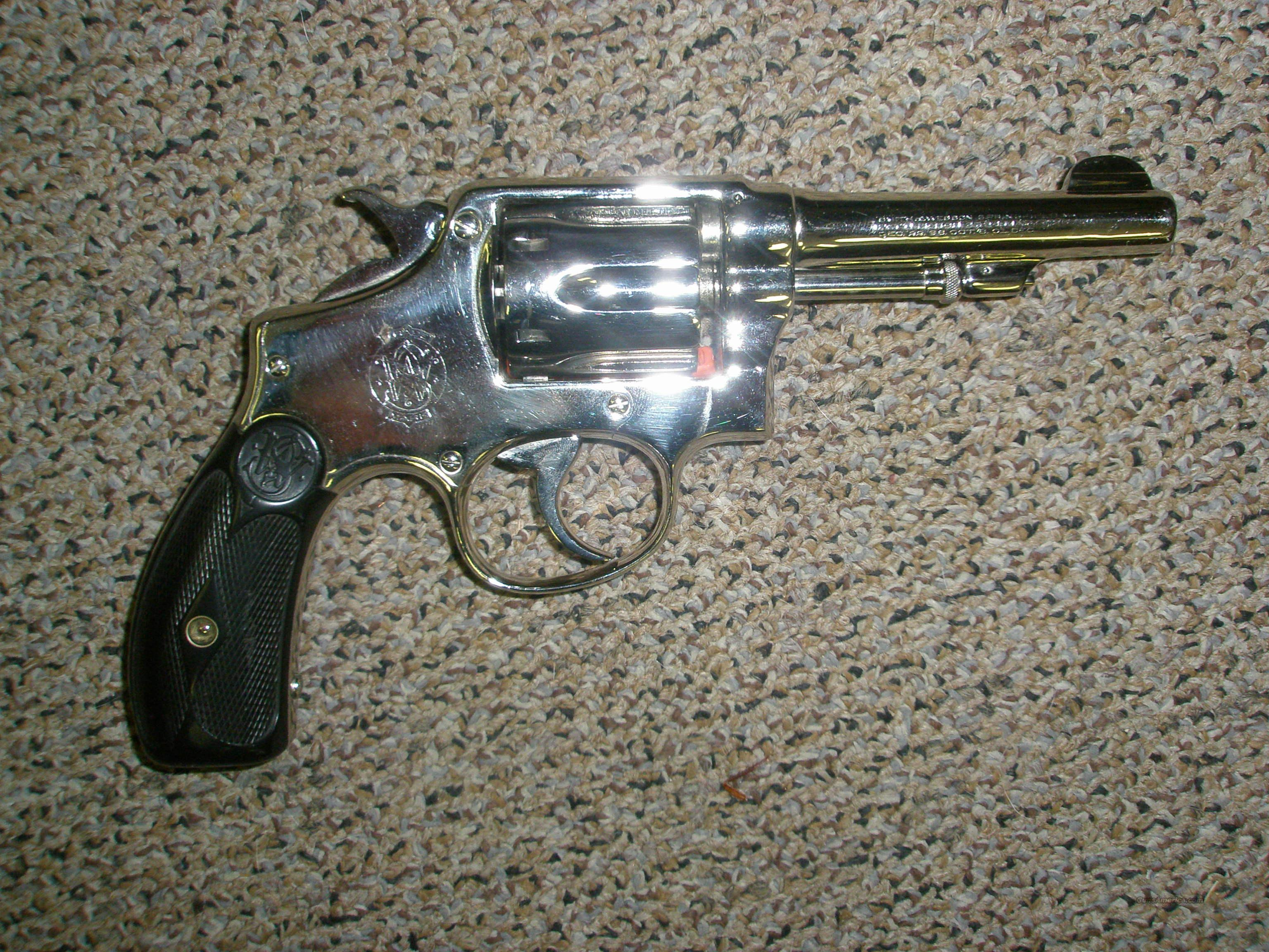 Smith Wesson 1903 .32 Special Re-nickel  Guns > Pistols > Smith & Wesson Revolvers > Pre-1945