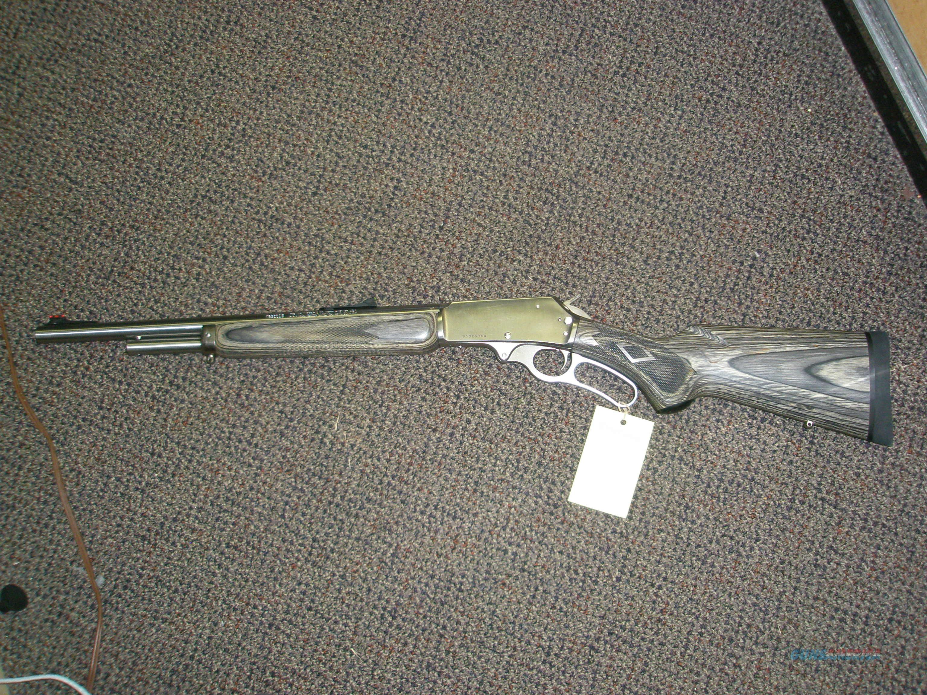 Marlin 1895SDG .45-70 lever action  Guns > Rifles > Marlin Rifles > Modern > Lever Action