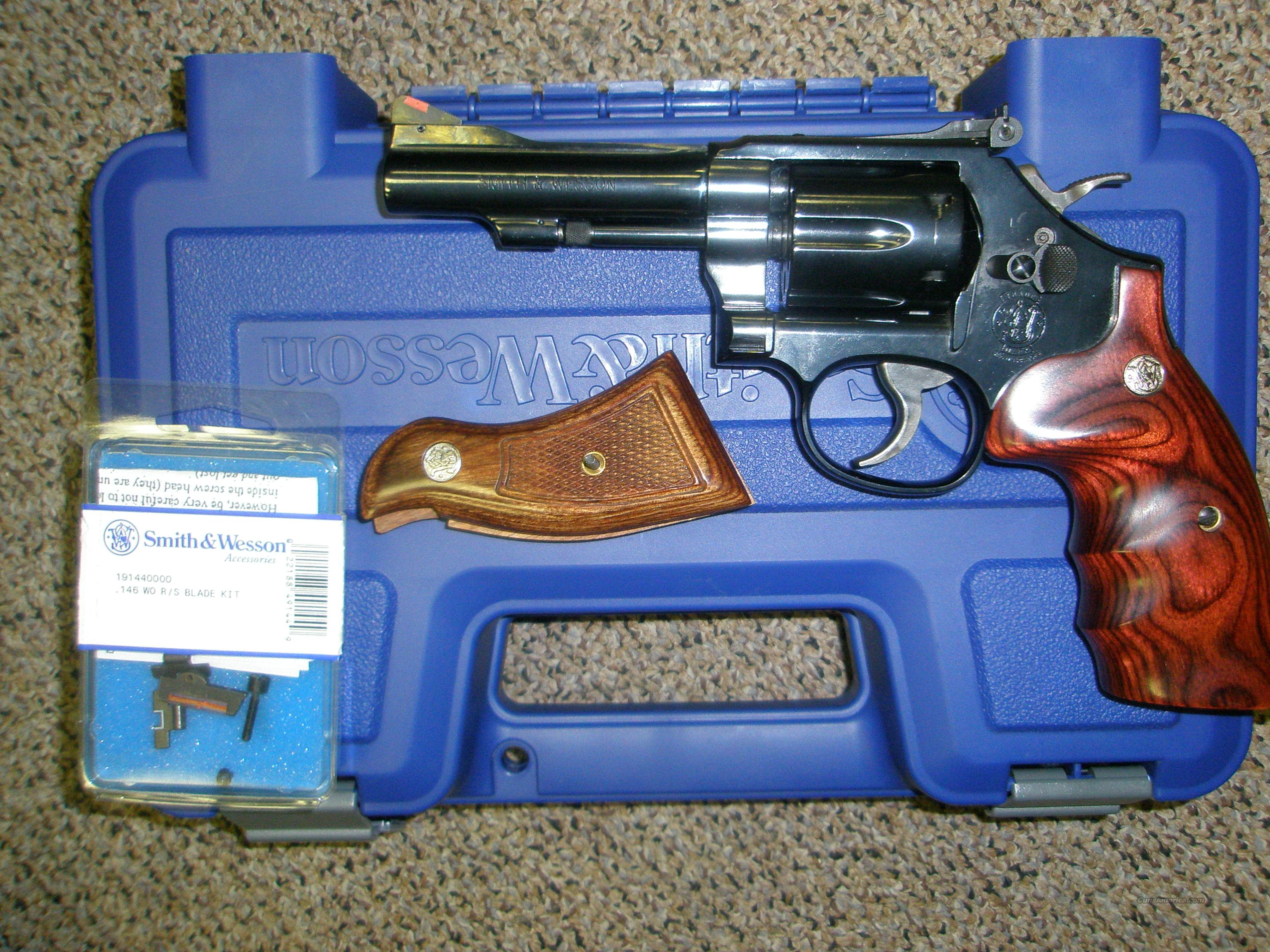 Smith Wesson 18-7 .22LR 6 shot As New  Guns > Pistols > Smith & Wesson Revolvers > Full Frame Revolver