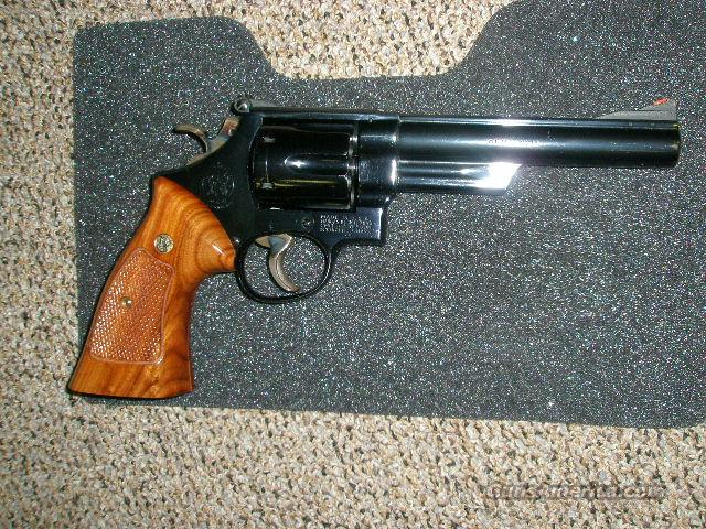 "Smith Wesson 57 .41 magnum 6"" Pinned/Recessed  Guns > Pistols > Smith & Wesson Revolvers > Full Frame Revolver"