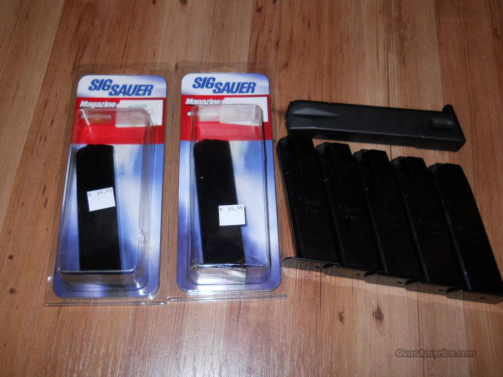SIG SAUER P226 HIGH CAPACITY 9MM MAGS  Non-Guns > Magazines & Clips > Pistol Magazines > Sig
