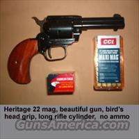 Heritage Rough Rider 22/ 22 mag combo  H Misc Pistols
