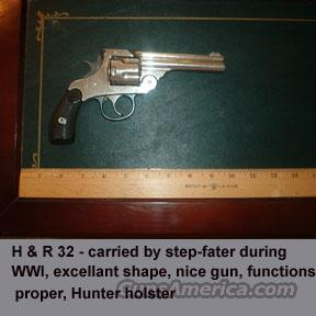 Harrington & Richards 1880 copy  Guns > Pistols > Harrington & Richardson Pistols