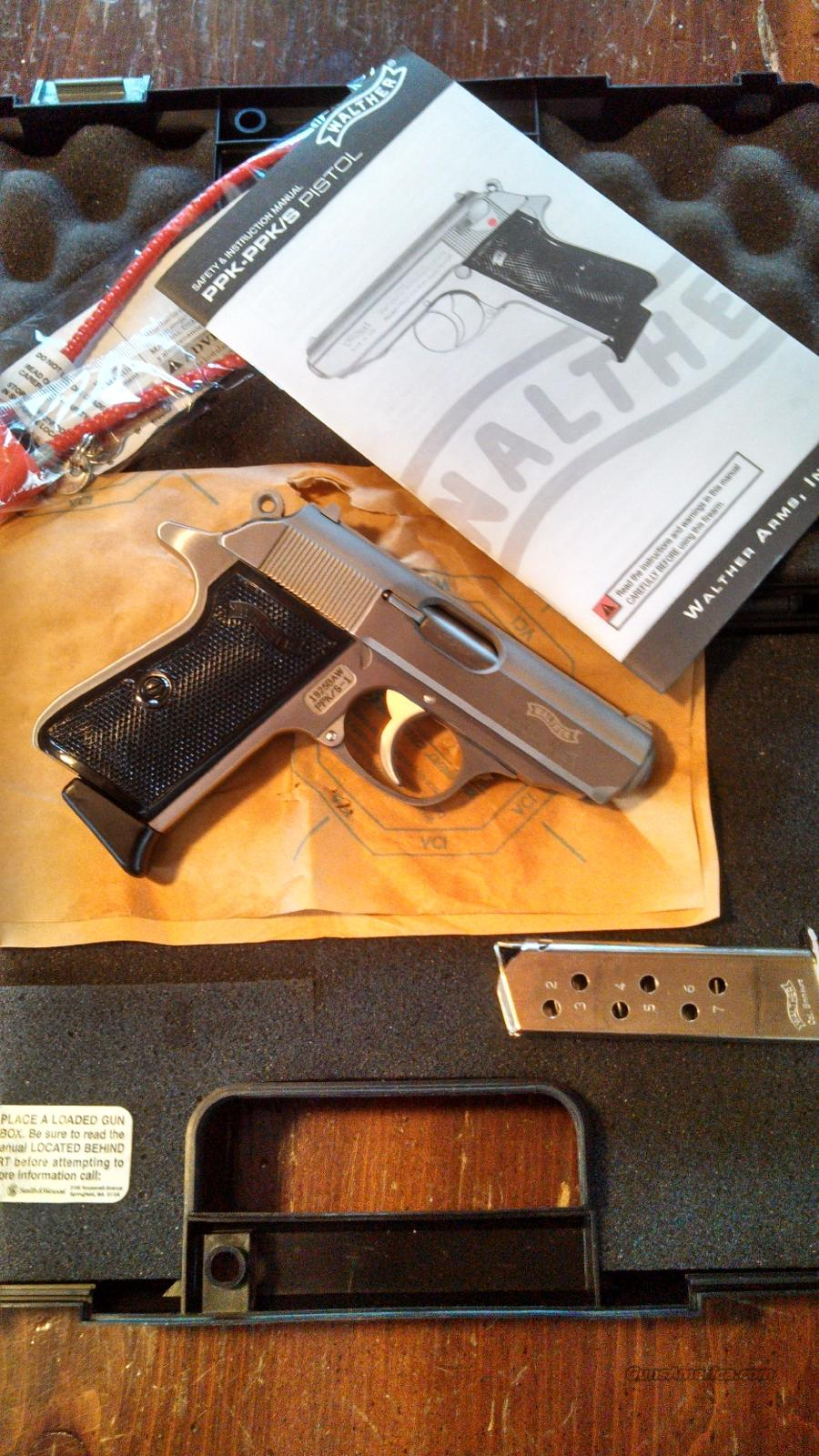 Walther PPK/S .380 ACP/9mm Kurz Stainless 2246004   Guns > Pistols > Walther Pistols > Post WWII > PPK Series