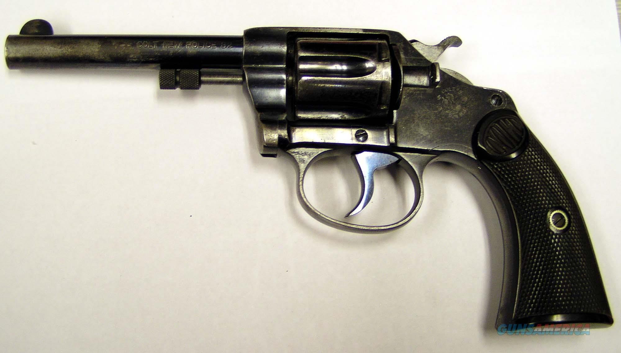 COLT NEW POLICE 32 REVOLVER --MADE IN 1904  Guns > Pistols > Colt Double Action Revolvers- Pre-1945