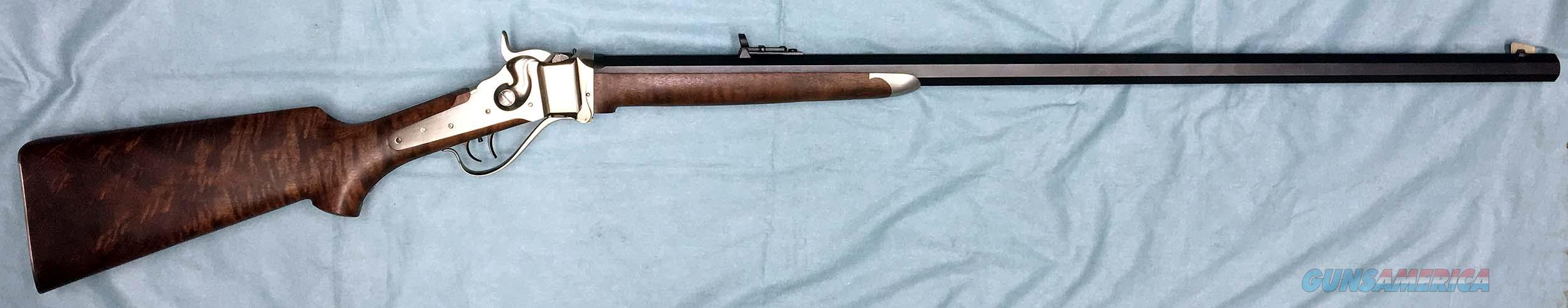 UNFIRED C. SHARPS 1874 SPORTING RIFLE - .45-70 CAL.  Guns > Rifles > Sharps Rifles - Replica