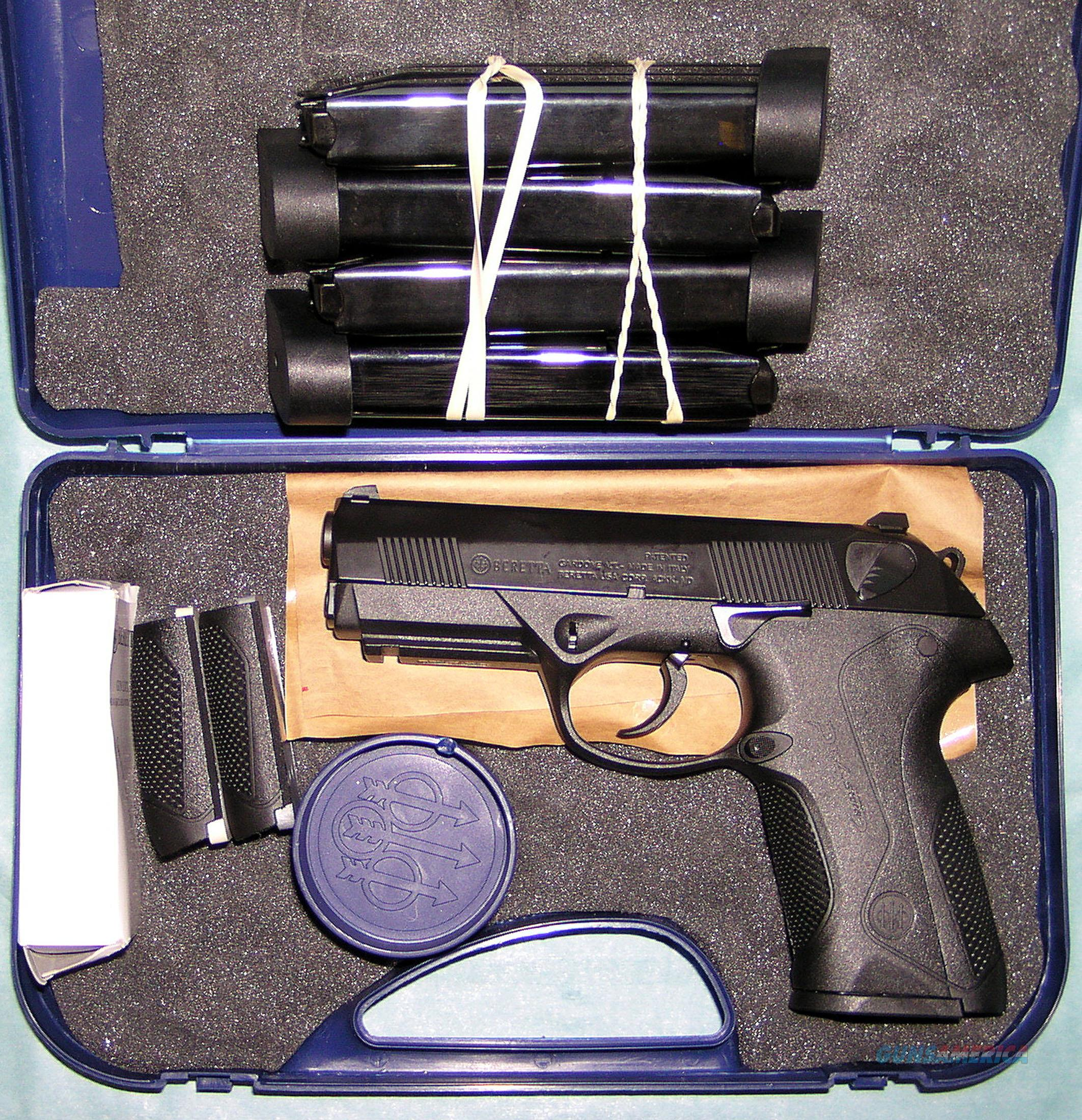 BERETTA PX4 STORM FULL SIZE .45ACP CAL. WITH THREE EXTRA MAGAZINES  Guns > Pistols > Beretta Pistols > Polymer Frame