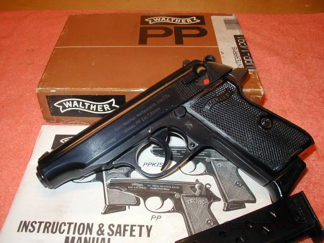 Walther PP .32 ACP German - ANIB  Guns > Pistols > Walther Pistols > Post WWII > PP Series