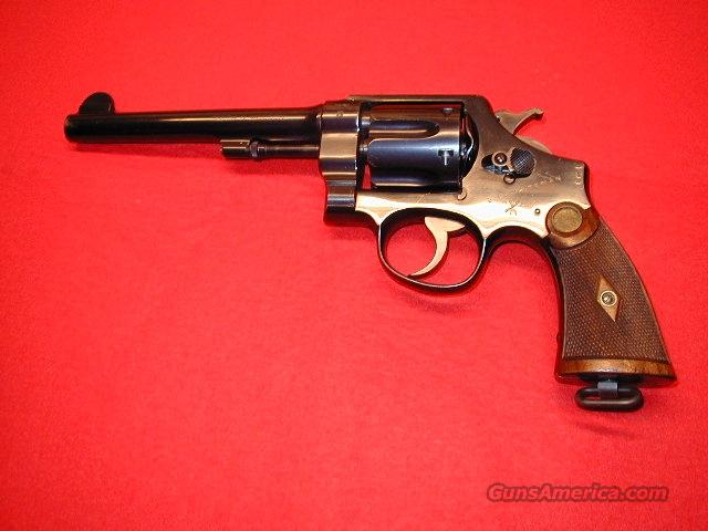 Hand Ejector Second Model .455  Guns > Pistols > Smith & Wesson Revolvers > Pre-1945