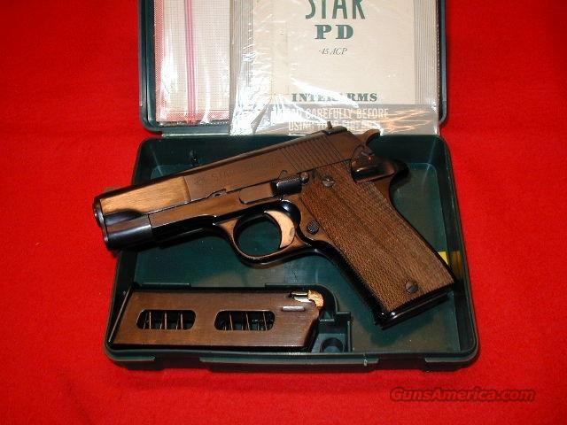 Star Model PD .45 ACP - Mint!  Guns > Pistols > Star Pistols