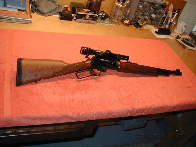Model 1895M .450 Mag w/Scoped & Ready!  Guns > Rifles > Marlin Rifles > Modern > Lever Action