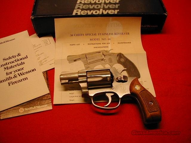 Model 60 - ANIB  Guns > Pistols > Smith & Wesson Revolvers > Pocket Pistols