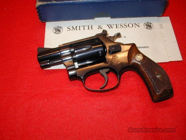 M34-1 Flat Latch - Mint  Guns > Pistols > Smith & Wesson Revolvers > Pocket Pistols