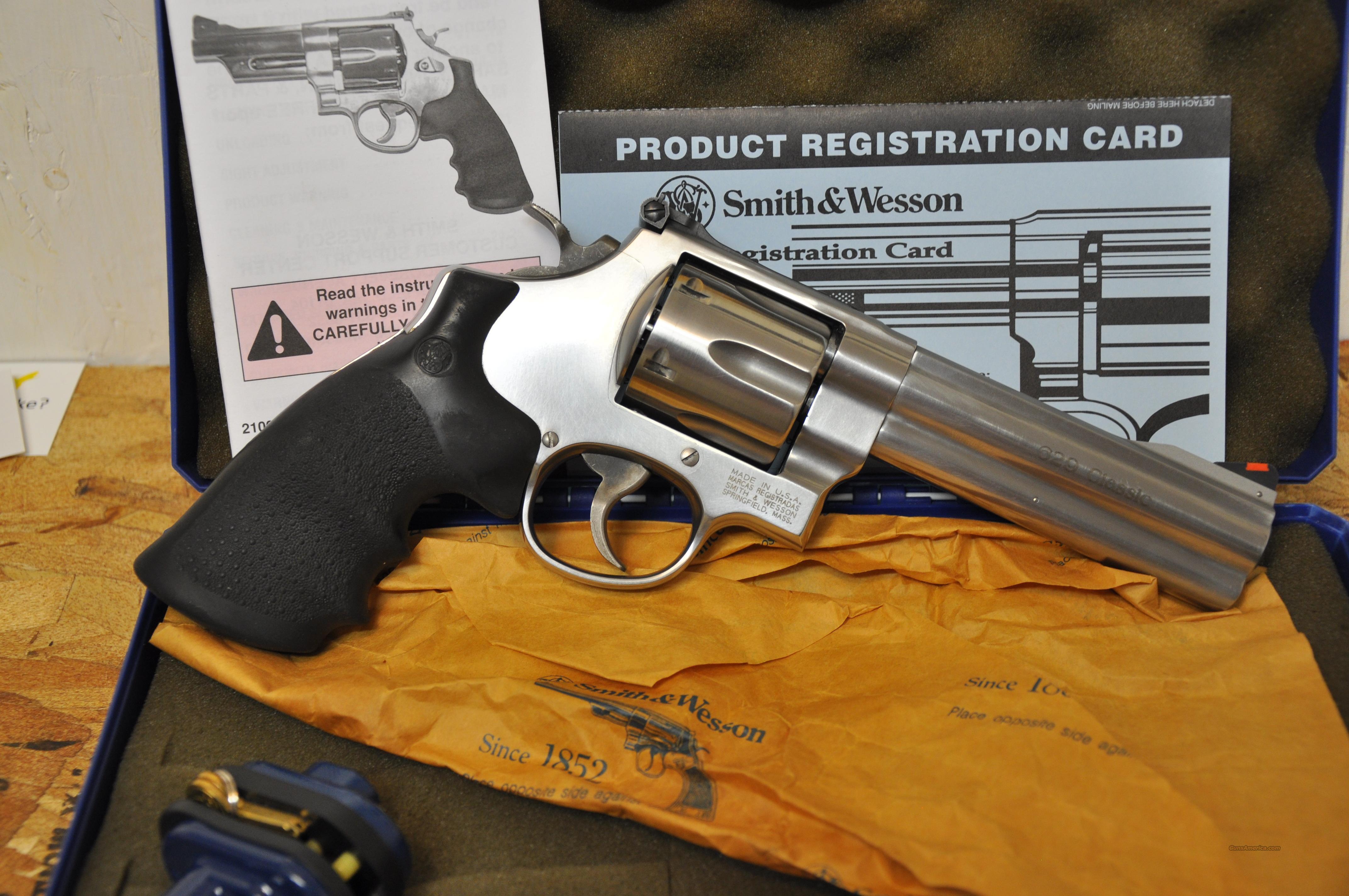 Smith & Wesson Model 629 Classic  Guns > Pistols > Smith & Wesson Revolvers > Model 629