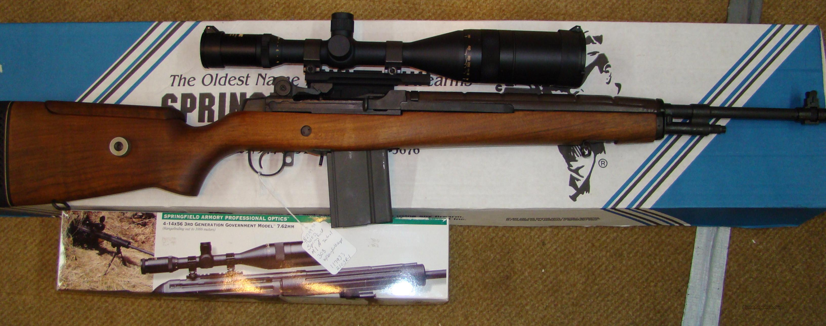 springfield M1A M21 tactical with springfield scope  Guns > Rifles > Springfield Armory Rifles > M1A/M14