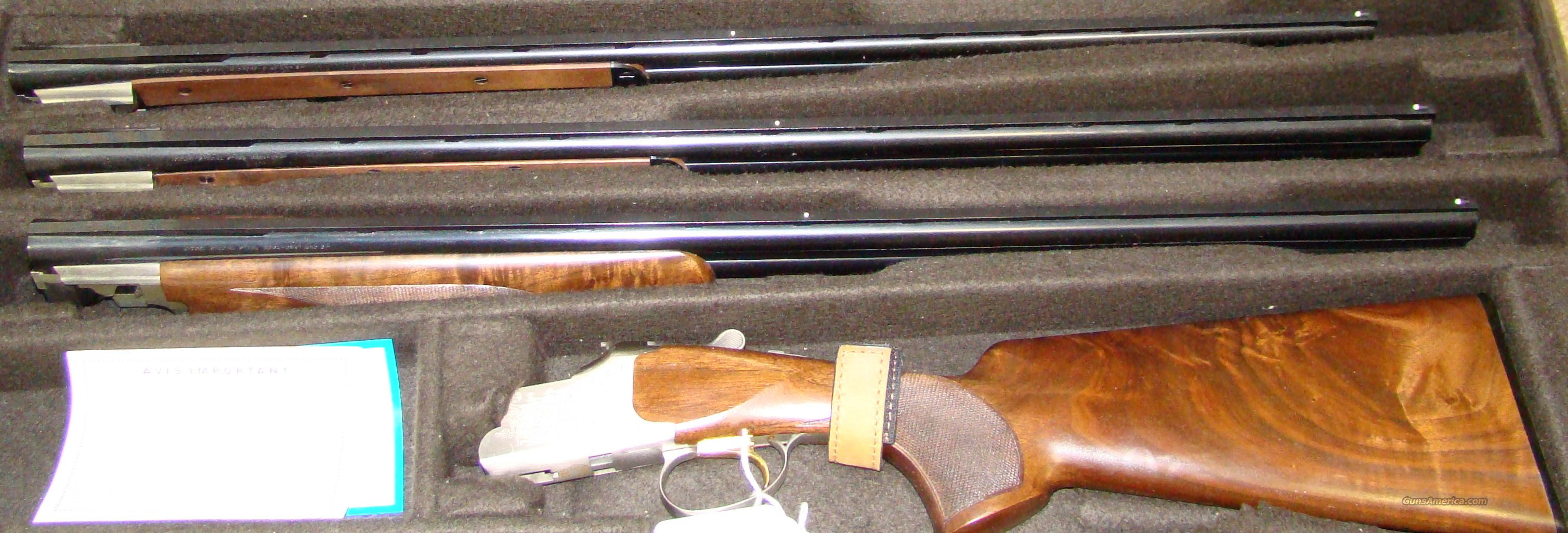 Browning 525 feather 3 barrel set with custom carry case  Guns > Shotguns > Browning Shotguns > Over Unders > Citori > Hunting