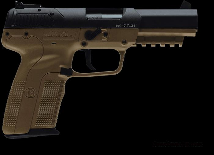 FNH Five Seven Pistol Dark Earth 20 RD Mags   Guns > Pistols > FNH - Fabrique Nationale (FN) Pistols > High Power Type