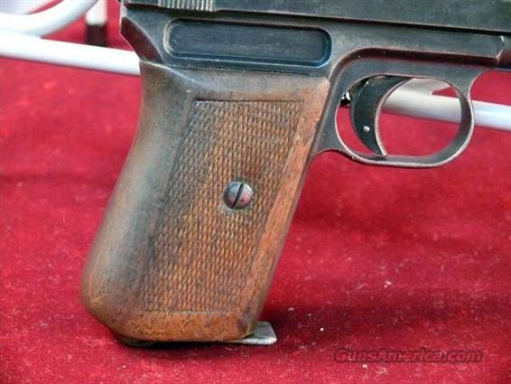 Mauser Pocket Model 1914 7.65mm/.32 ACP Semi-Auto   Guns