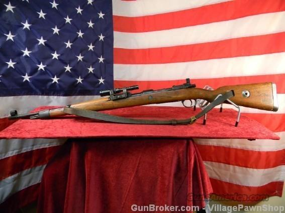 Mauser K98 ZF41 Sniper Rifle 8mm Mauser–27381  Guns > Rifles > Mauser Rifles > German