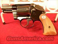 "Colt Agent 38 Special 2"" Barrel Blued – 24699  Guns > Pistols > Colt Double Action Revolvers- Modern"