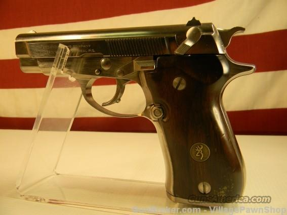 Browning BDA380 380 ACP Nickel 34313  Guns > Pistols > Browning Pistols > Other Autos