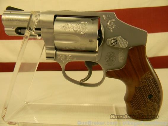 "S&W 640 Engraved 357 Mag 2-1/8"" 150784 35133  Guns > Pistols > Smith & Wesson Revolvers > Pocket Pistols"