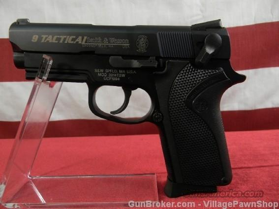 "S&W 3914TSW 9mm Tactical 3-1/2"" 103890 16389  Guns > Pistols > Smith & Wesson Pistols - Autos > Polymer Frame"