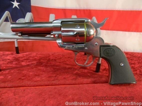 "Ruger Vaquero KNV-443 44Spec. 3 ¾"" Brl. SS – 26502  Guns > Pistols > Ruger Single Action Revolvers > Cowboy Action"